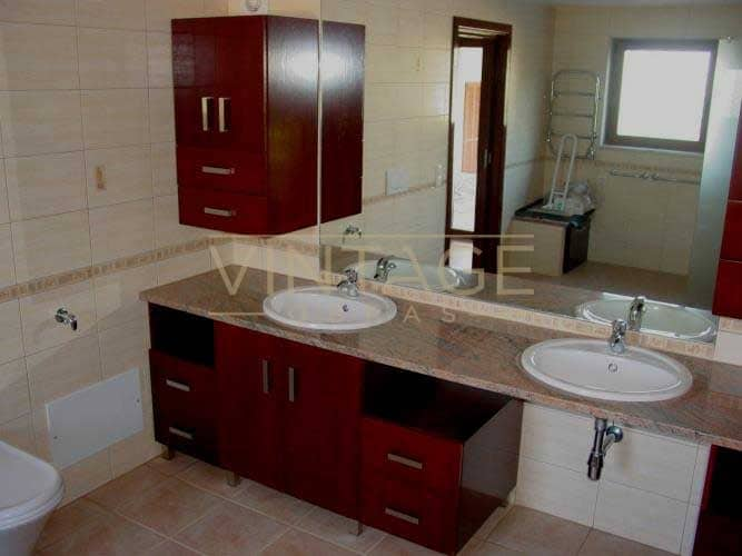 Remodelação de casa de banho: aspeto final
