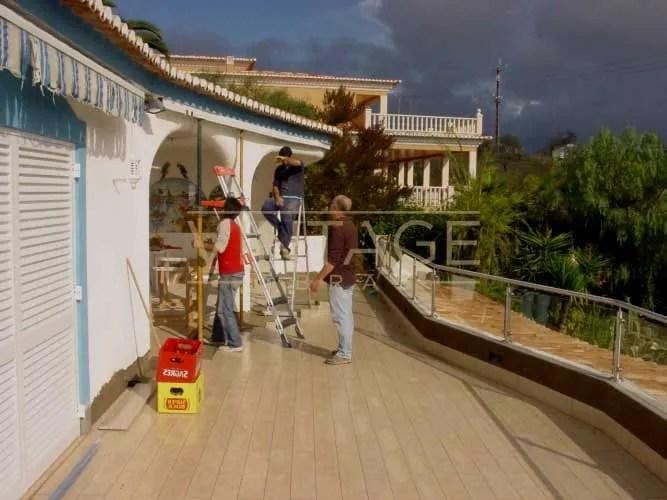 Impermeabilização e pintura de exteriores