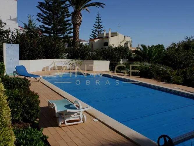 Remodelação de exteriores: Construção de piscina