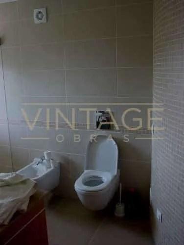 Remodelação de casas de banho: Sanita suspensa