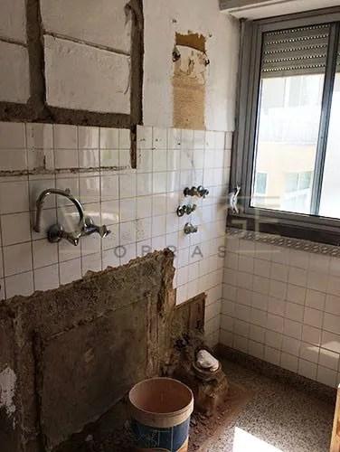 Cozinha em remodelação