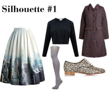 Wardrobe Architect Silhouette 1 | @vintageontap