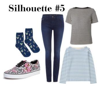 Wardrobe Architect Silhouette 5 | @vintageontap