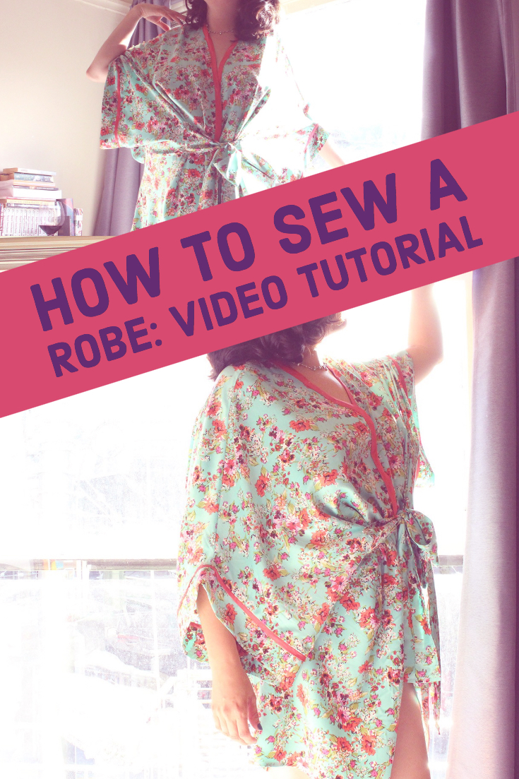 How to Sew a Robe, The Seamwork Almada | Vintage on Tap