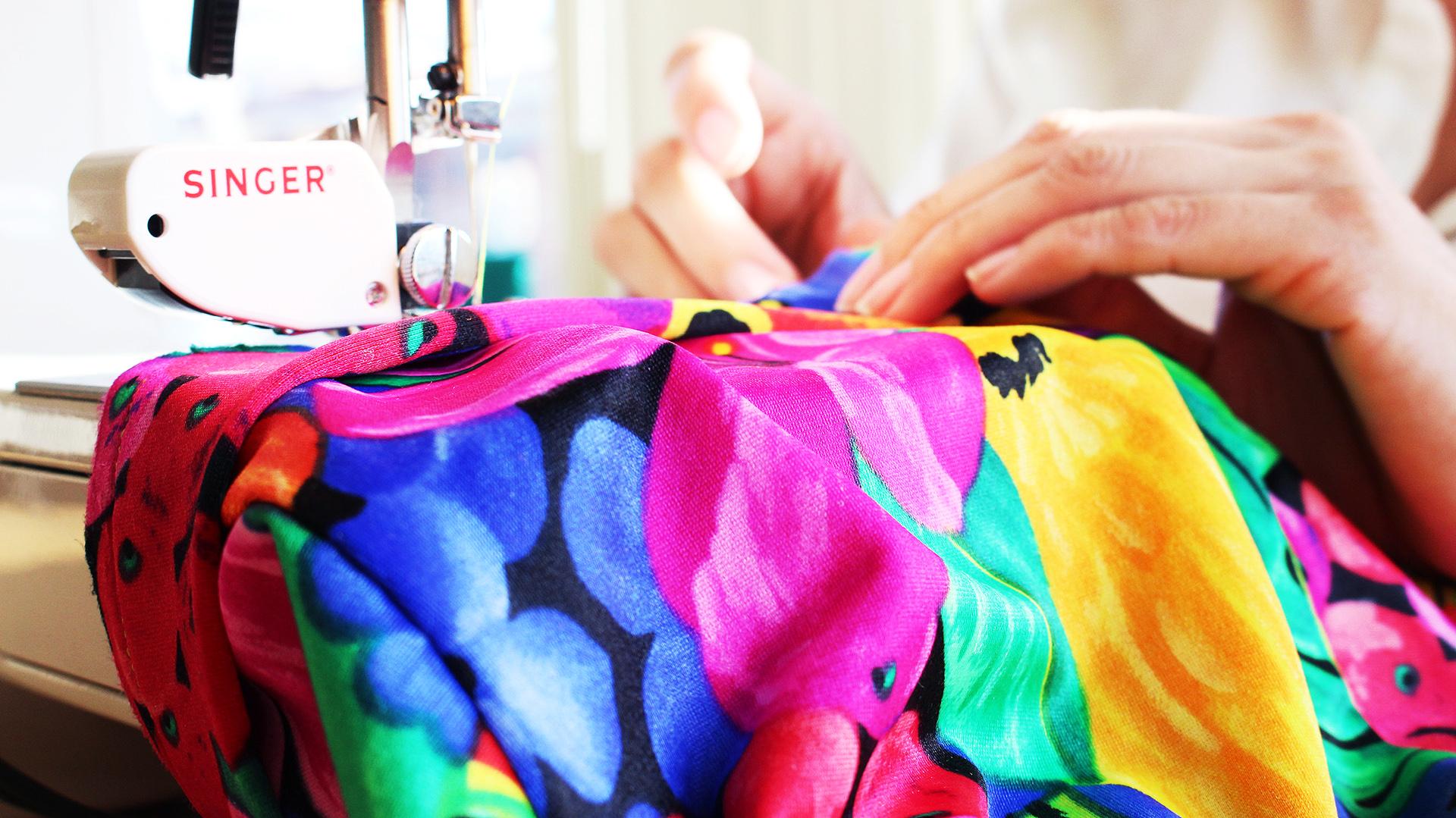 Sewing McCalls 7168 Swim Suit | @vintageontap