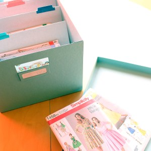 Organizing your sewing patterns, digitally and storing correctly | @vintageontap