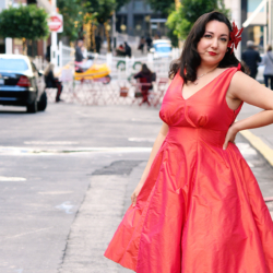 Butterick B5603 Pinup dress | @VintageonTap