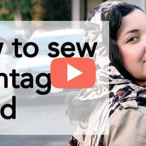 How to Sew a Vintage Headscarf | Vintage on Tap