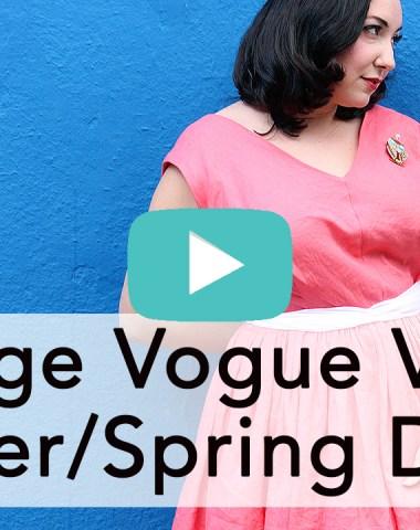 Vintage Vogue V8789 | Vintage on Tap