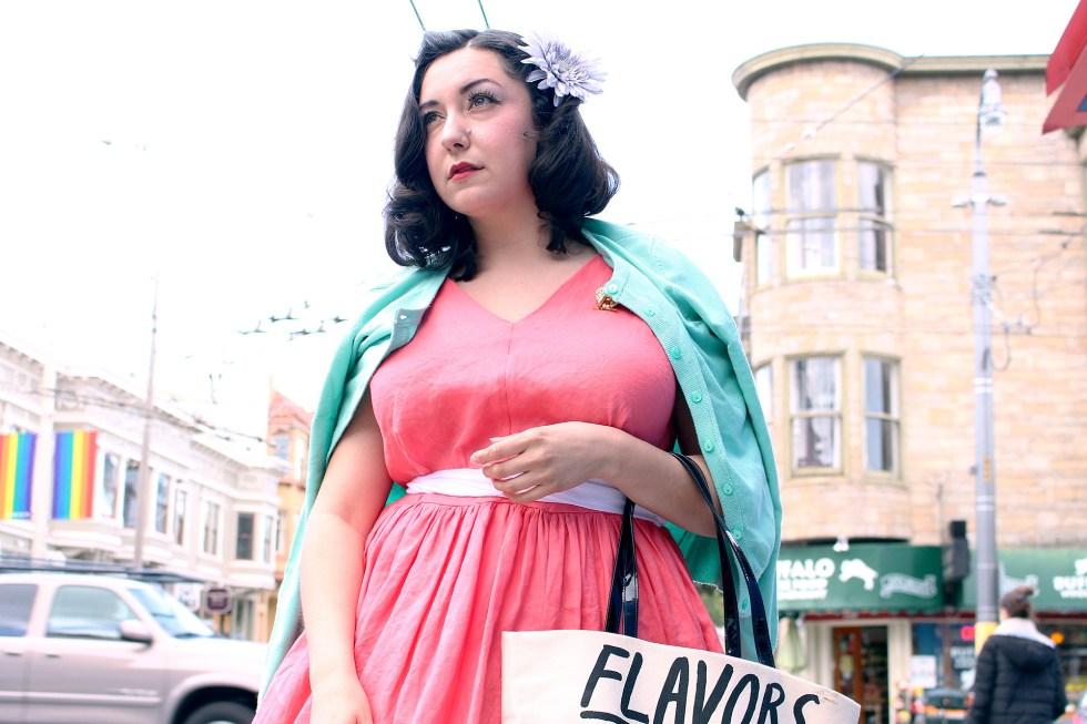Vintage dress, Vogue V8789, Britex Fabrics | Vintage on Tap