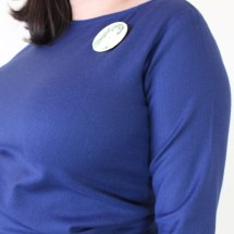 No Dart Full Bust Adjustment, Astoria Sweater, Britex Fabrics | Vintage on Tap