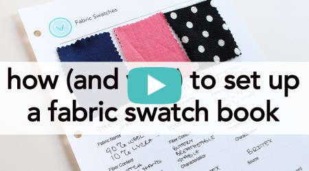 How and Why to Start a Fabric Swatch Book