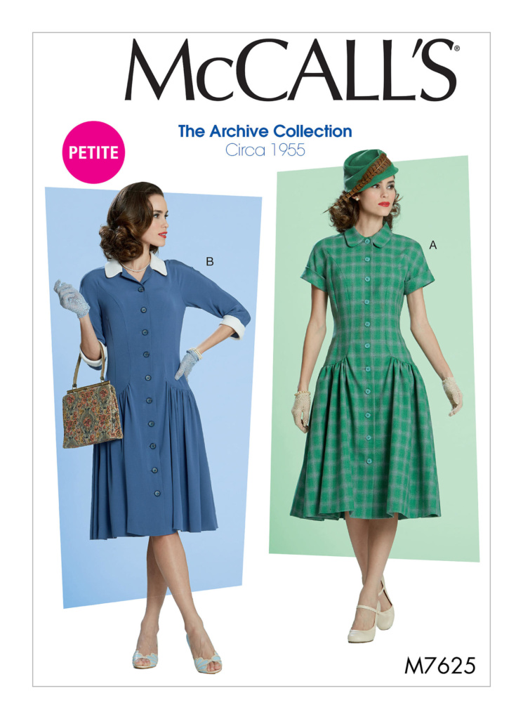 McCall's M7625 Sewing Pattern | Vintage on Tap