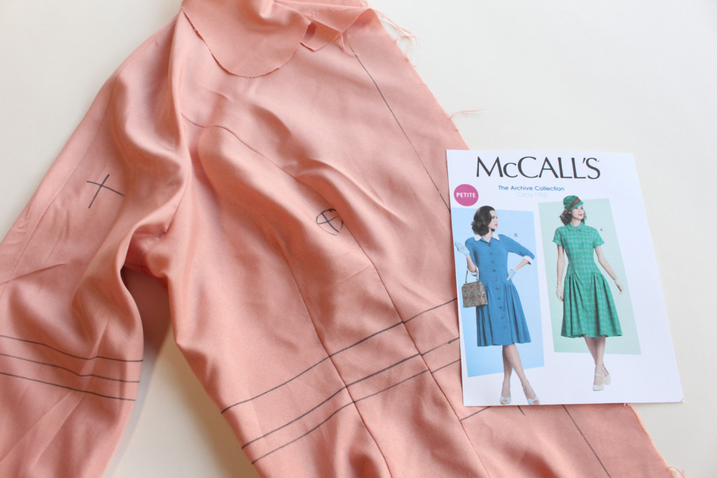 Vintage McCall's 7625, 1950s vintage sewing | Vintage on Tap