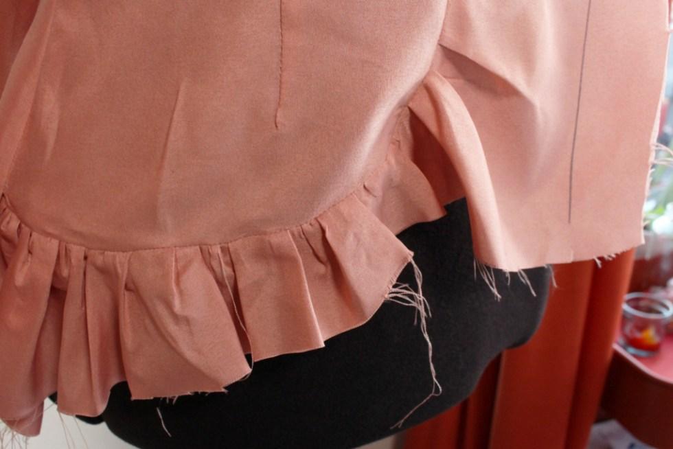Vintage McCall's 7625, skirt ruffles | Vintage on Tap