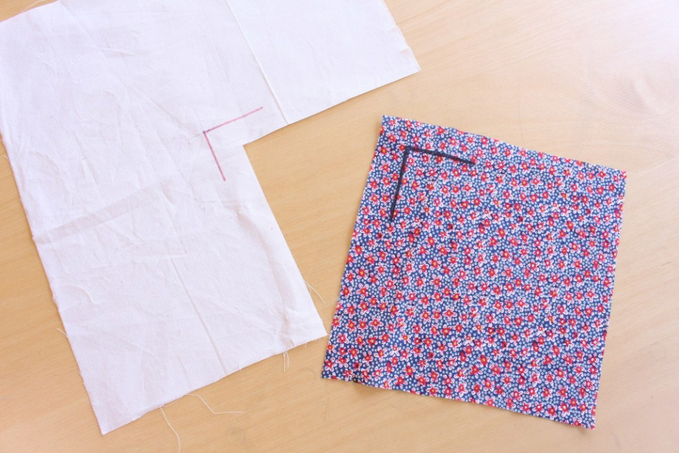 How to Sew a Corner Seam | Vintage on Tap