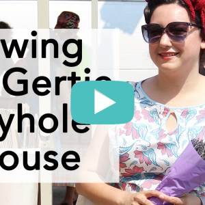 How to sew a retro Keyhole Blouse | Vintage on Tap
