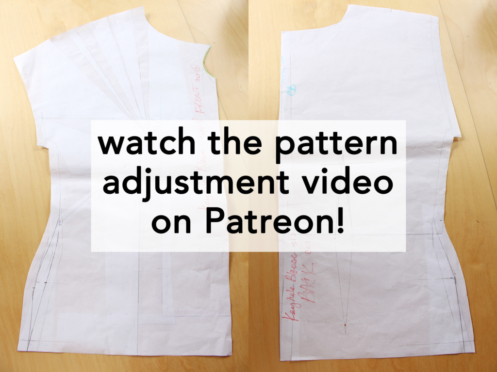 Gertie Keyhole Blouse Patreon Video of the Month | Vintage on Tap