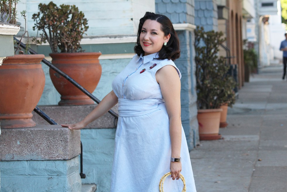 Video tutorial for retro sewing, the Colette Penny dress   Vintage on Tap