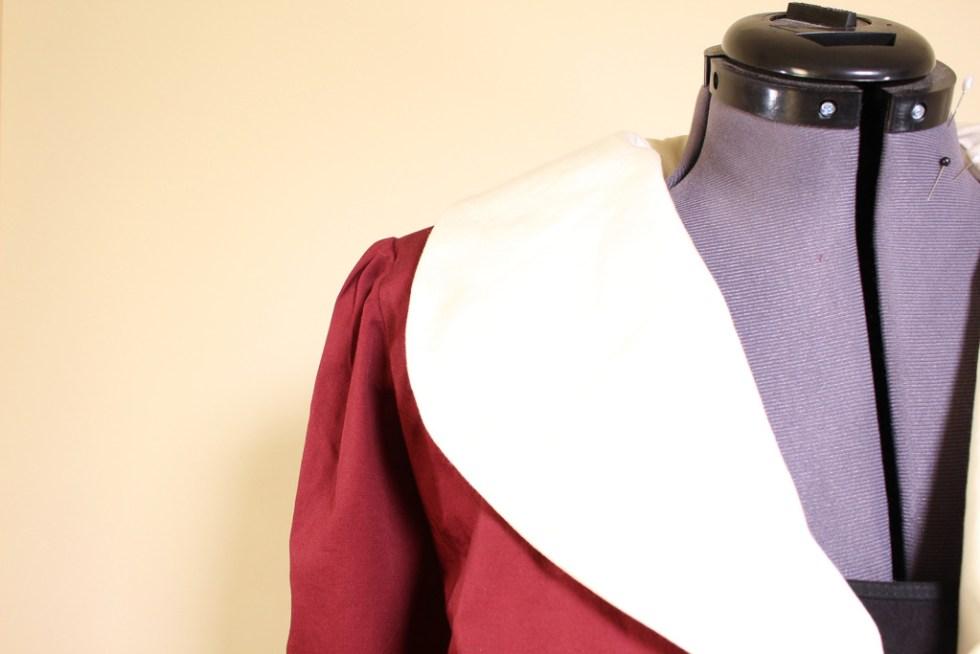 Collar close up, Vintage Vogue 9280 | Vintage on Tap