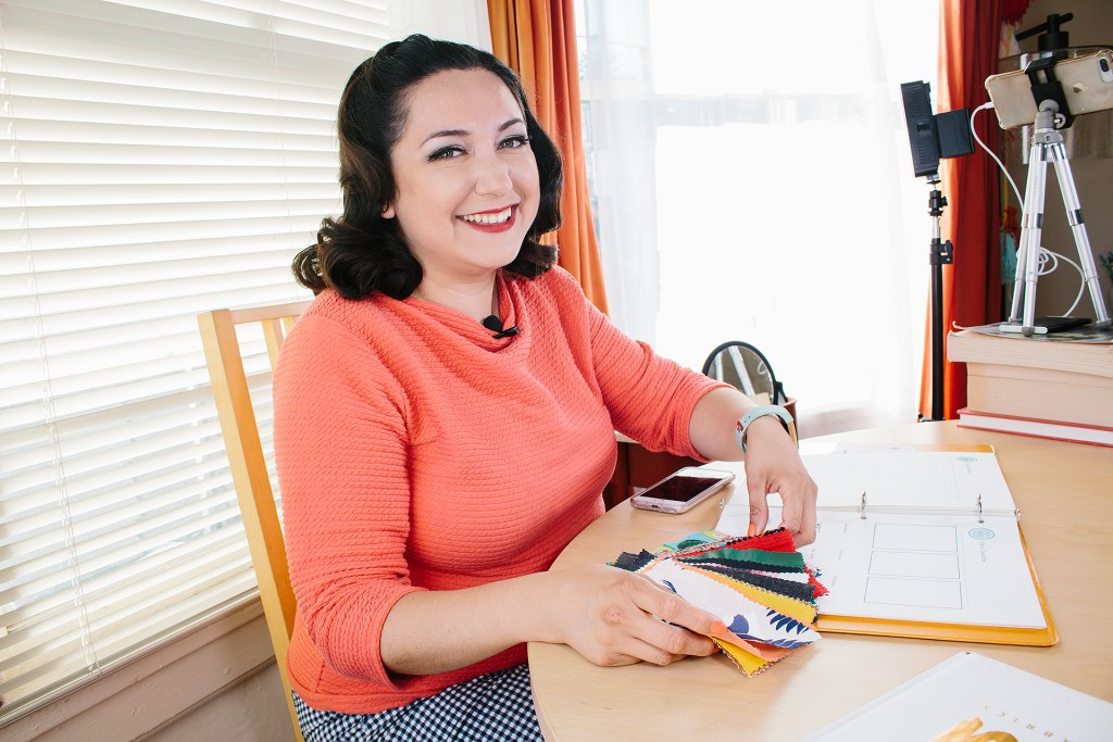Don't know how to pick fabric for dressmaking? Watch this video tutorial to learn how to select the right fabric for your sewing project | Vintage on Tap Pinup Sewing Blog