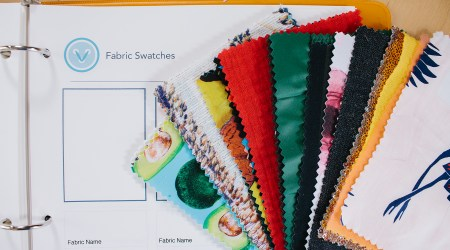 Learn how to pick fabric for clothes with this video tutorial, explaining how to approach your fabric search! | Vintage on Tap, Pinup Sewing Blog