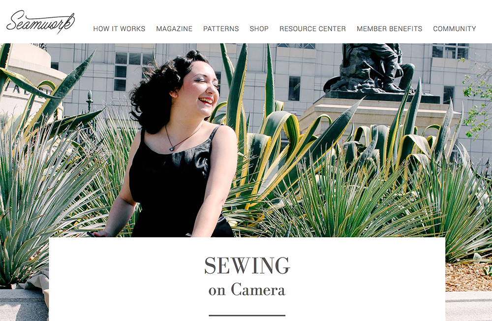 Vintage on Tap featured on Seamwork Magazine