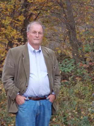 Writer, poet, photographer and teacher Charles van Heck.