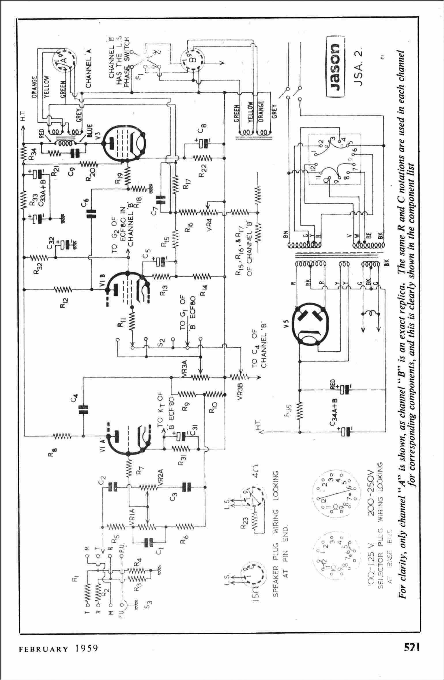 Vintage Radio And Electronics Jason Kit Jsa2 Stereo Unit