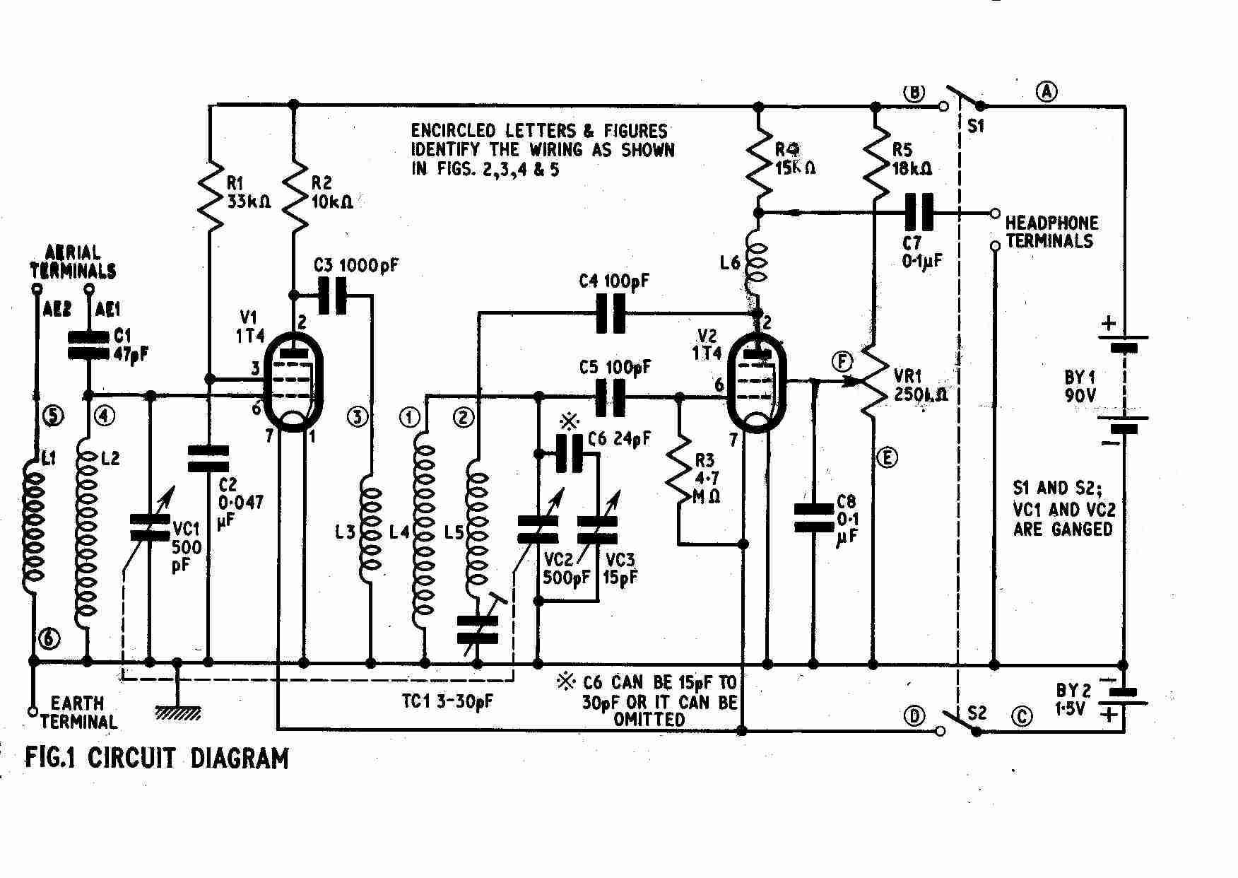 Vintage Radio And Electronics A 2 Valve Short Wave