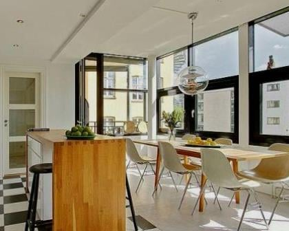 Remodelações de apartamentos espaço de refeições.