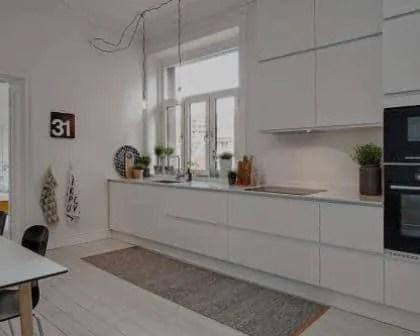 Remodelações de cozinhas em apartamentos.