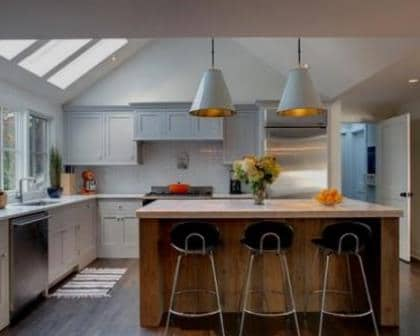 Remodelações de cozinhas em sótão.