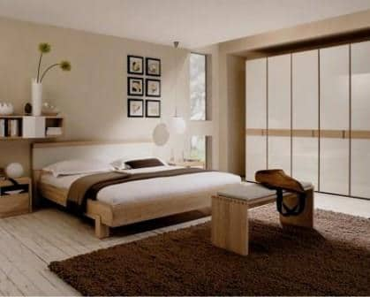 Remodelações de moradias quarto para casal.