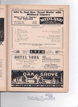 1940s ad for Oak Grove Memorial Mausoleum