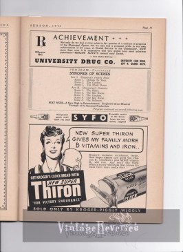WWII bread advertisement
