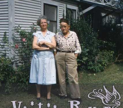 Grandma and Grandpa KodaChrome Slide Scan