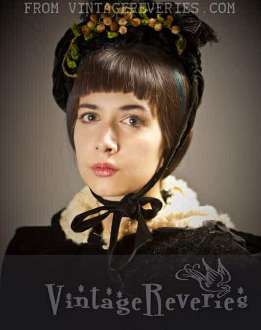 1800s Winter Outfit – modern vintage photography