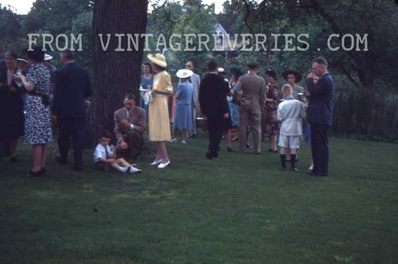 1940s garden party