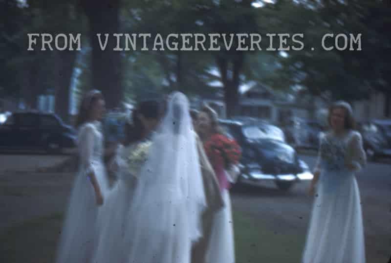 1945 Wedding Reception or Garden Party