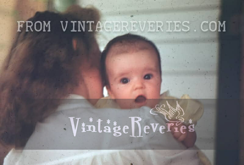 Cute baby picture 1940s