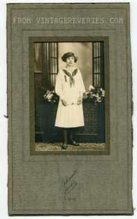 early 1900s girl photo