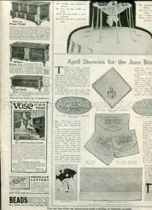 1917 magazine ads