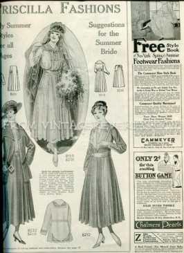edwardian bridal fashions