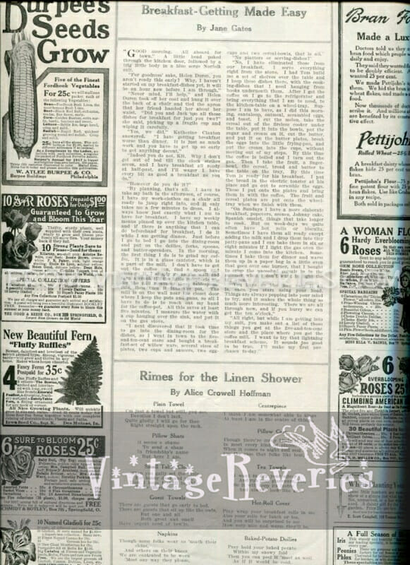 turn of the century advertisements
