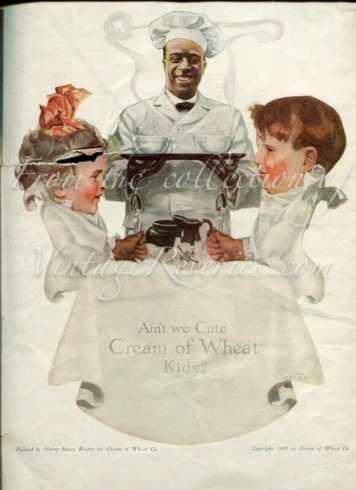 Cream of Wheat WWI Ad