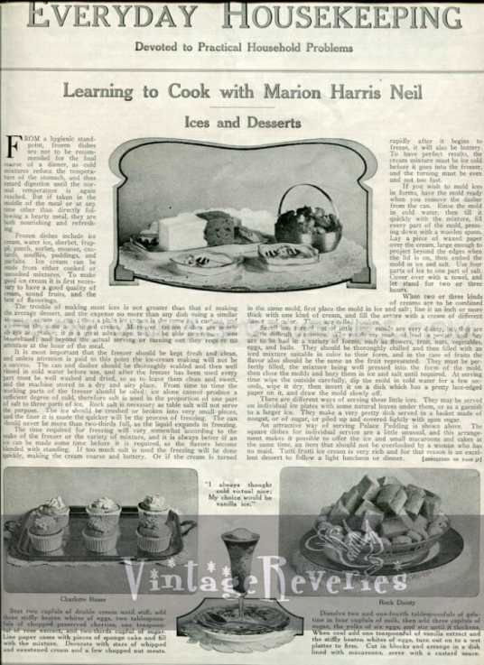 1917 ice cream recipe