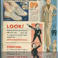 Summer 1935 Mail Order Catalog - Cover & Womens Shoe Fashions
