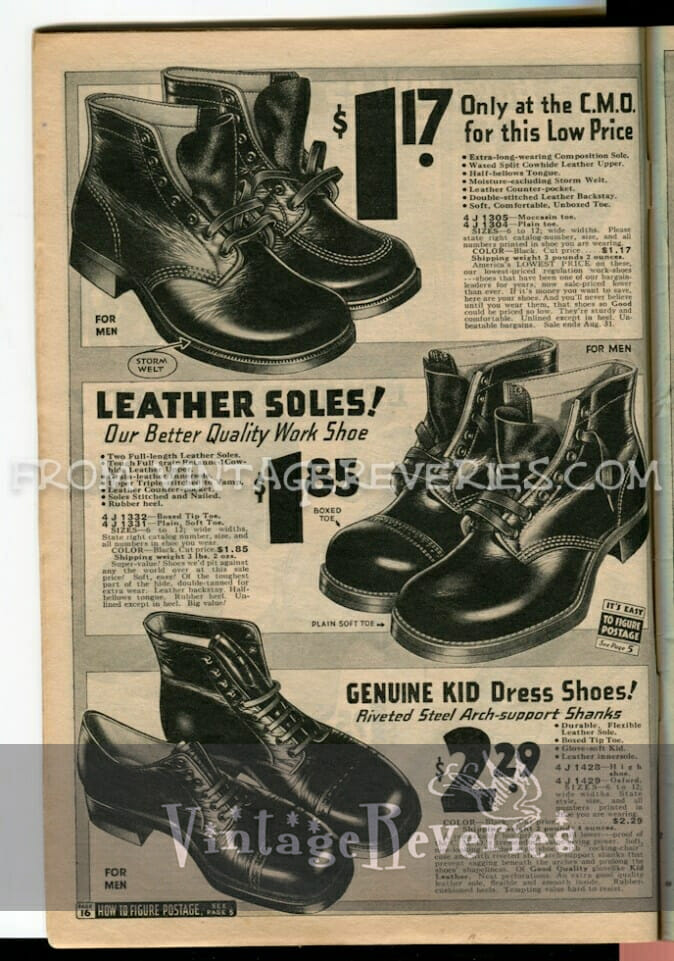 1930s boots