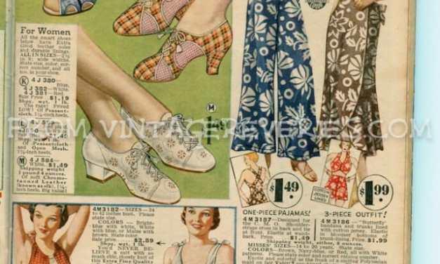 1935 Wool Bathing Suits, Women's Sportswear, and Mens' Underwear…